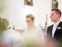 Ślub kościelny kościół Baniocha