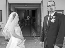 Ślub w kościele na Mariankach