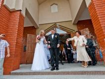 Ślub w kościele w Józefosławiu na Ogrodowej, Piaseczno