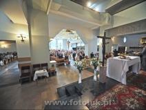 Ceremonia ślubna w Podkowie Leśnej